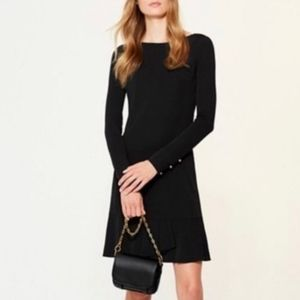 NWT TORY BURCH FOSTER DRESS IN BLACK